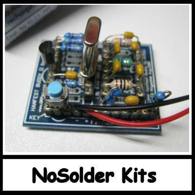 NO Soldering Required kits