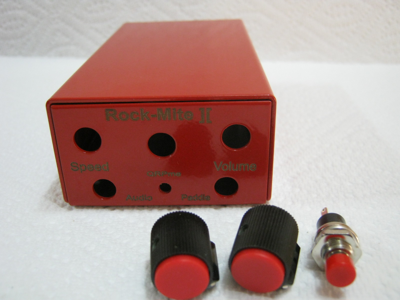 Picture of Rockmite ][ Enclosure - RED