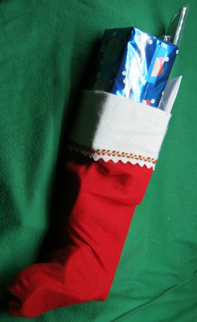 Picture of QRPme Christmas Stocking....TUBBY