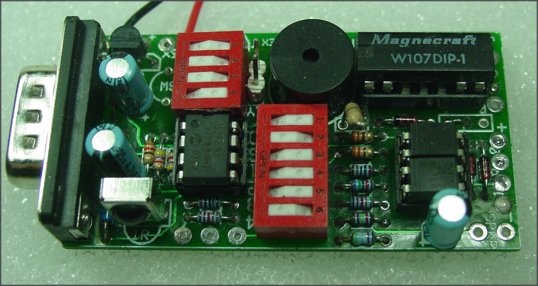 Qrpme Qrp Fun In Cans Boxes And From Scratch Picaxe Programming Circuit Picture Of Hatchet Kit
